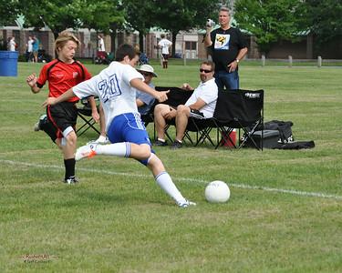 STN Rangers (U13) v. STM SC United at Lehigh Valley Youth Soccer League Tournament in Bethlehem, PA, on June 12-13, 2010.
