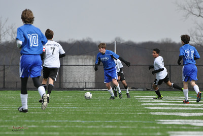 STN Rangers v. Sterling SC Elite Black 96 at the Loudoun College Showcase in Leesburg, VA on March 2, 2013.