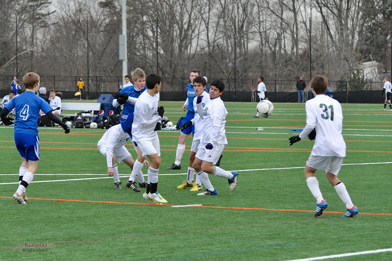 STN Rangers v. Montgomery SC MSC Eagles at the Loudoun College Showcase in Leesburg, VA on March 2, 2013.