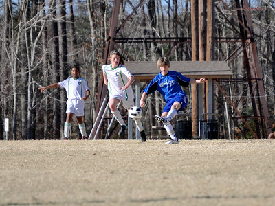 STN Rangers (U14) v. BW Cosmos 97 in President's Day Cup in Williamsburg, VA on Feburary 19-20, 2011.