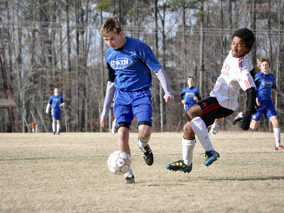 STN Rangers (U14) v. VCCL Champions League Select in President's Day Cup in Williamsburg, VA on Feburary 19-20, 2011.