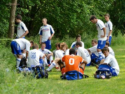 STN Rangers (U15) v. SYA Ajax Silver Reptiles (Southwestern Youth Association - VA), at the Virginian Memorial Day Soccer Tournament in Fairfax, VA on May 26-27, 2012.