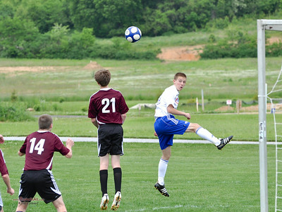 STN Rangers (U15) v. MSC (Mechanicsburg Soccer Club) in CPYSL (Central PA Youth Soccer League) game on May 13, 2012, in Mechanicsburg, PA.