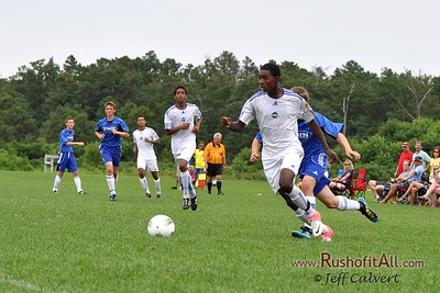 STN Rangers (U15) v. TSF Academy 96/97 Blue at US Club Soccer National Cup XI Mid-Atlantic Regional Tournament in Hammonton, NJ on 9 July 2012.
