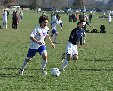 STN Rangers (U15) v. FC Pocono Elite Storm 96/97 at PA Classics Winter College Showcase in Lancaster, PA, on December 3-4, 2011.