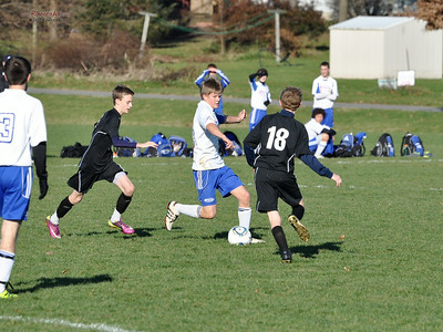 STN Rangers (U15) v. Rage SC '96 Gunners at PA Classics Winter College Showcase in Lancaster, PA, on December 3-4, 2011.