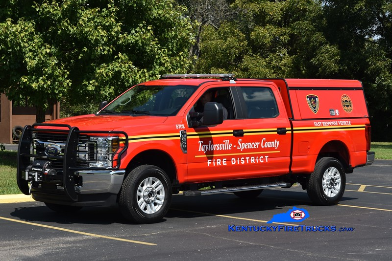 Taylorsville-Spencer County  Unit 5702<br /> 2018 Ford F-250 4x4 <br /> Greg Stapleton photo