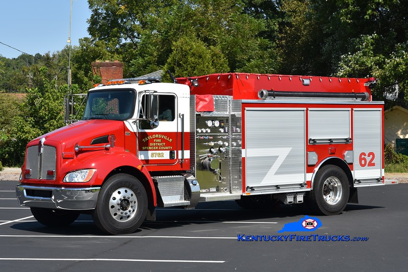 Taylorsville-Spencer County Tanker 5762<br /> 2020 Kenworth T-370/Southeast 1250/2000<br /> Greg Stapleton photo