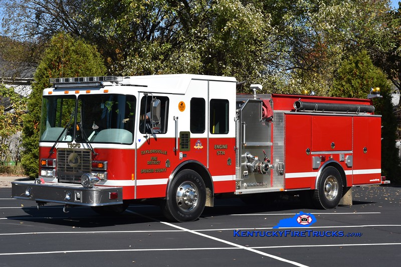 Taylorsville-Spencer County Engine 5734<br /> 2007 HME/Ferrara Intruder 2 1250/1000/30<br /> Greg Stapleton photo