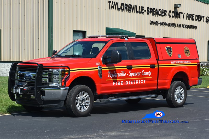 Taylorsville-Spencer County  Unit 5701<br /> 2018 Ford F-250 4x4 <br /> Greg Stapleton photo