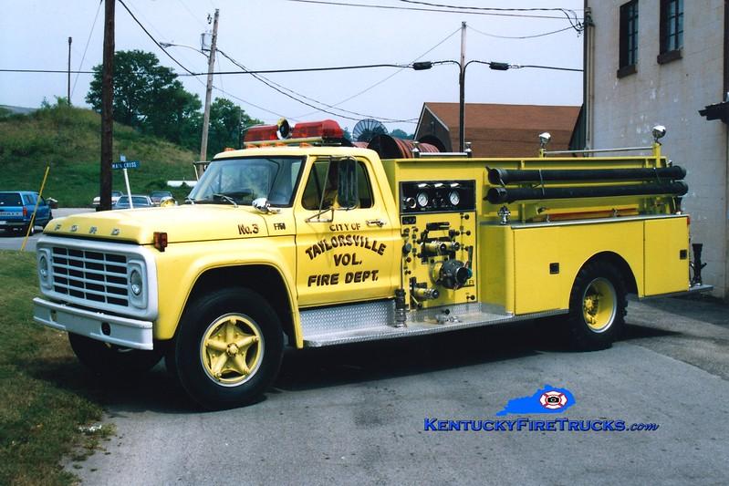 <center> RETIRED <br> Taylorsville  Engine 5623  <br> 1975 Ford F-750/Darley 750/750  <br> Greg Stapleton photo </center>