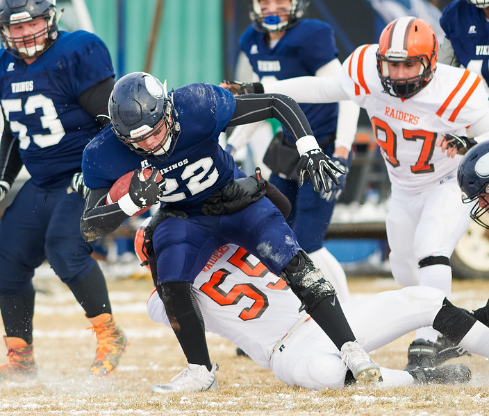 North Battleford Vikings vs Yorkton Raiders 3A Provincial Final
