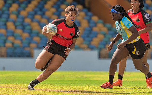 St. Lucia Women v Roots Rugby Women