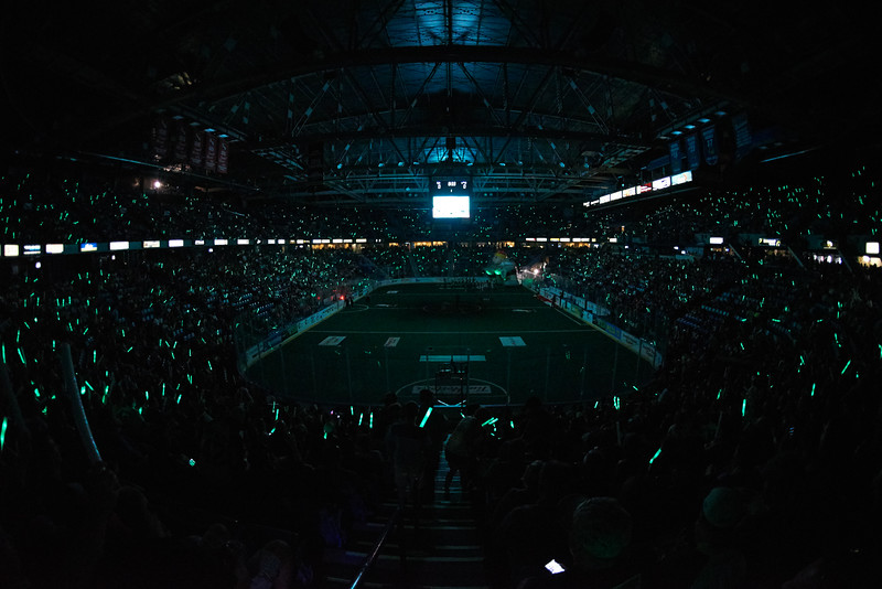 Saskatchewan Rush Game 2 of the National Lacrosse League Champion's Cup between the Buffalo Bandits and Saskatchewan Rush at SaskTel Centre on June 4, 2016 in Saskatoon, Canada