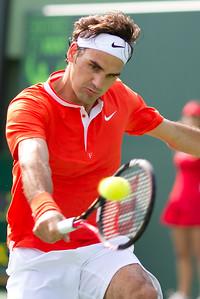 2010 Sony Ericsson [1] R Federer (SUI) d F Serra (FRA) 76(2) 76(3)