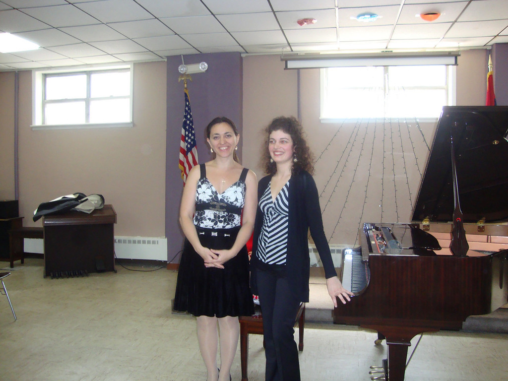Pianists Karine Poghosyan and Nairi Badal
