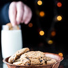 Choc Chip Cookies and Milk