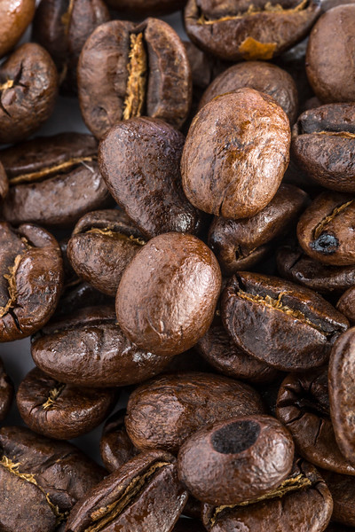 Coffee Beans - Photo from the top