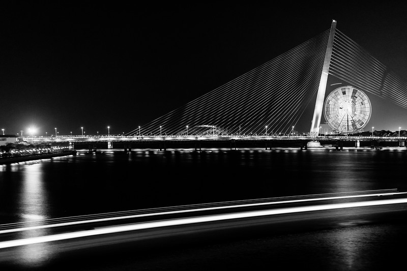 The Cầu Trần Thị Lý Bridge is one of five linking the east and west halves of Da Nang.