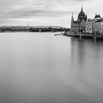 The Hungarian parliament looms above the Danube.