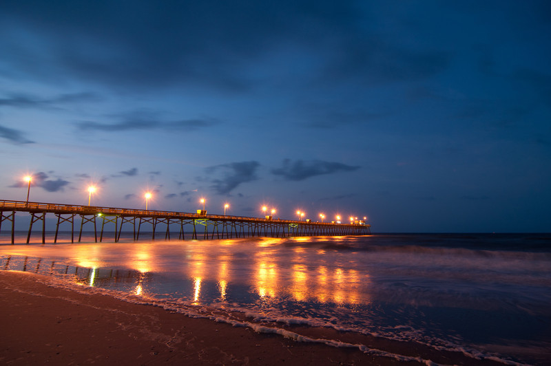Bogue Inlet Pier<br /> best print size - 8x12 or 12x18