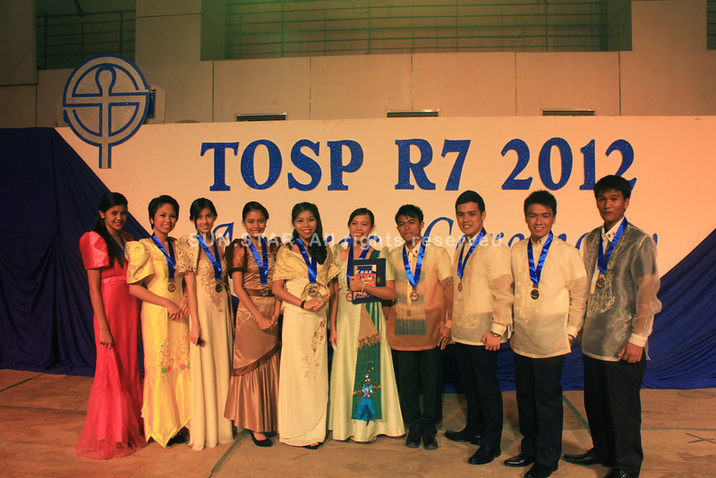 Outstanding students in Central Visayas