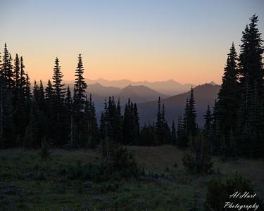 Sunrise Mt rainier Park