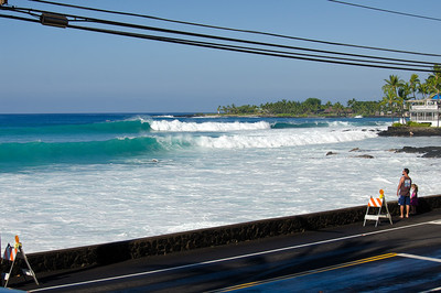 Spind Drifters during NW swell of December 20, 2013. Kailua-Kona, Big Island Hawaii.