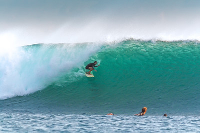 """Andy speed-lining T-Land""   Nembrala, Rote Is., Indonesia. September 2014. (Note: Photo by Armie; post-processing by Mark)"