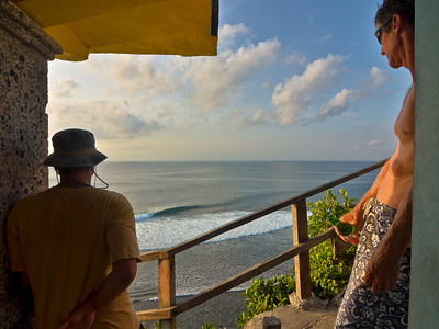 """Kevin & Andy Ulu Surf Check""  Uluwatu, Bali, Indonesia. September 2012."
