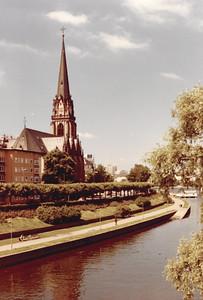 Stop over in Franfurt