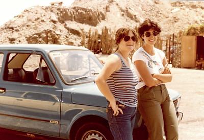 Tziviah and Tali - U drive rented in Eilat