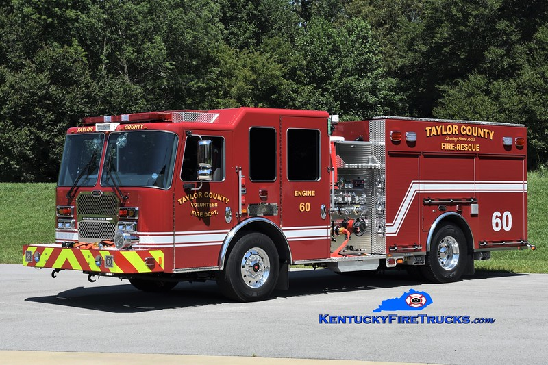 Taylor County Engine 60<br /> 2020 KME Panther 1250/1000<br /> Greg Stapleton photo