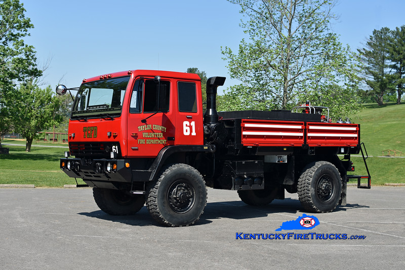 Taylor County  Brush 61<br /> x-US Army <br /> 1998 Stewart & Stevenson M1098 LMTV 4x4/TCFD 500/550<br /> Kent Parrish photo