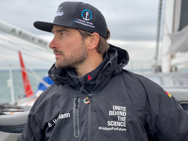 MALIZIA II - Boris Herrmann and Will Harris at the start to the 2019 edition of the Transat Jacques Vabre