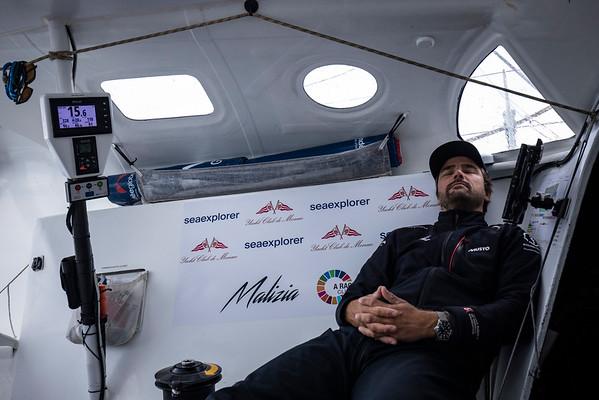 Onboard content with Boris Herrmann