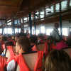 Taking the ferry from Phuket to Koh Phi Phi.