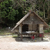 Hut on Bamboo Island.  Anyone want to take a nap?