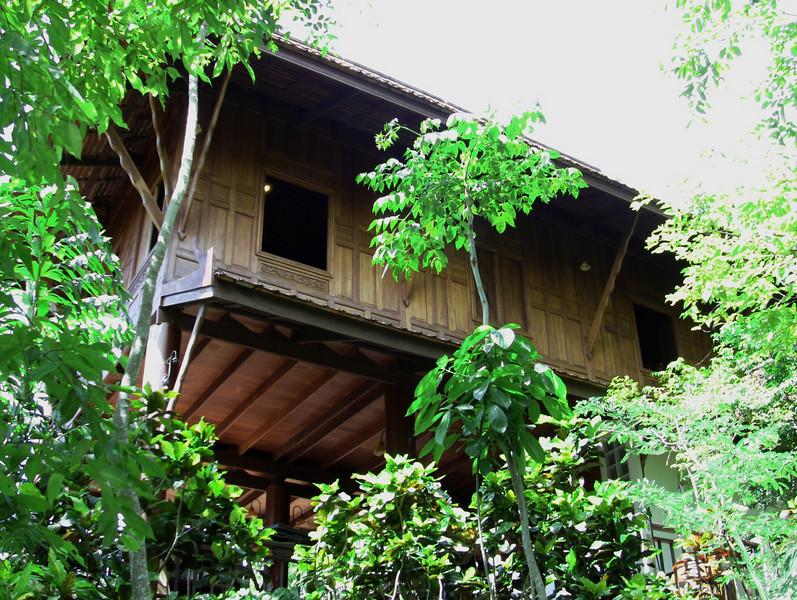 One of the resort's five restaurants, Ruin Thai.