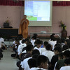 This was taken at Id's school where she teaches.  Here a monk is giving a lesson on Buddhism.  The kids would occasionally roar in laughter.  Wish I could have understood the language.