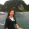 Arriving at Koh Phi Phi harbor on the ferry.