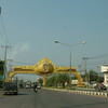 Khon Kaen city gate, next morning