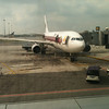 plane for next flight to Khon Kaen