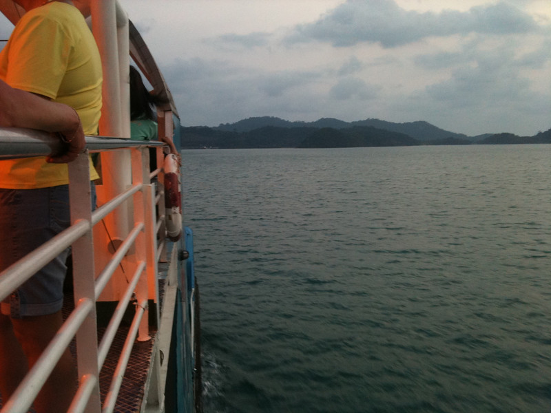 ferry ride to Koh Chang (Elephant Island)