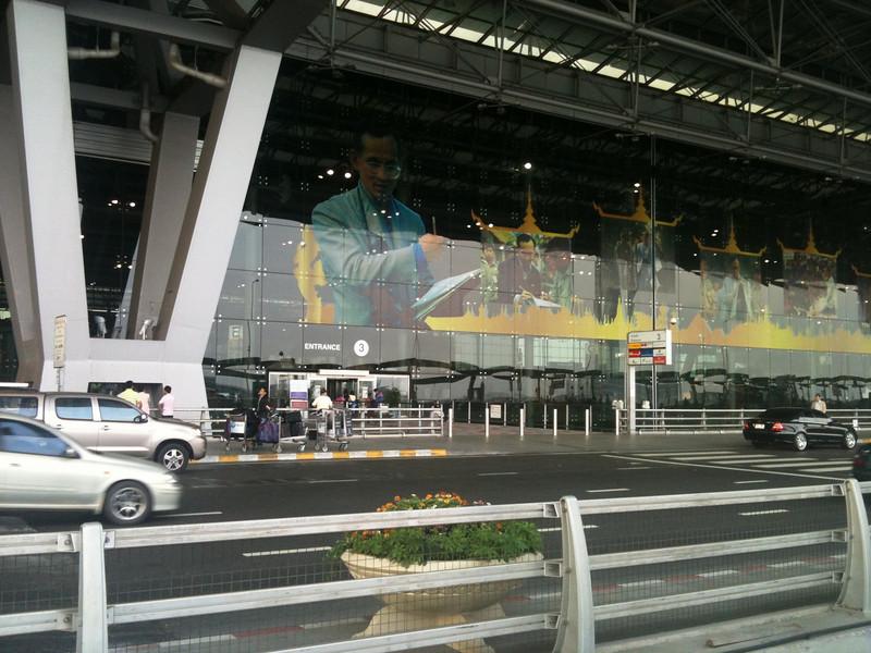 Finally arrived Suvarnabhumi airport, Bangkok