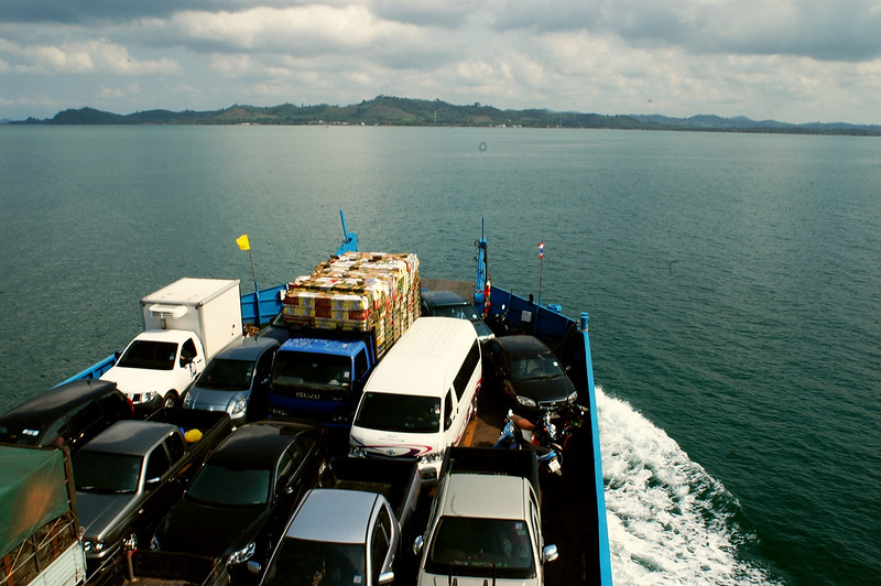 approaching the mainland of Thailand