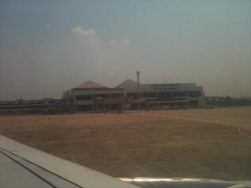 Khon Kaen airport.