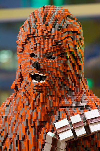 Lego Chewie.