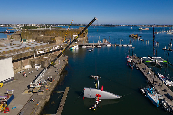 20 May 2020 - Malizia's launch at Lorient La Base