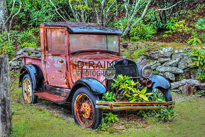 Color of Rust - Scaly Mountain Truck